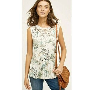 Anthropologie Meadow and Rue Lia Tank Blouse